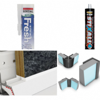 WetWall Panel Profiles & Adhesive